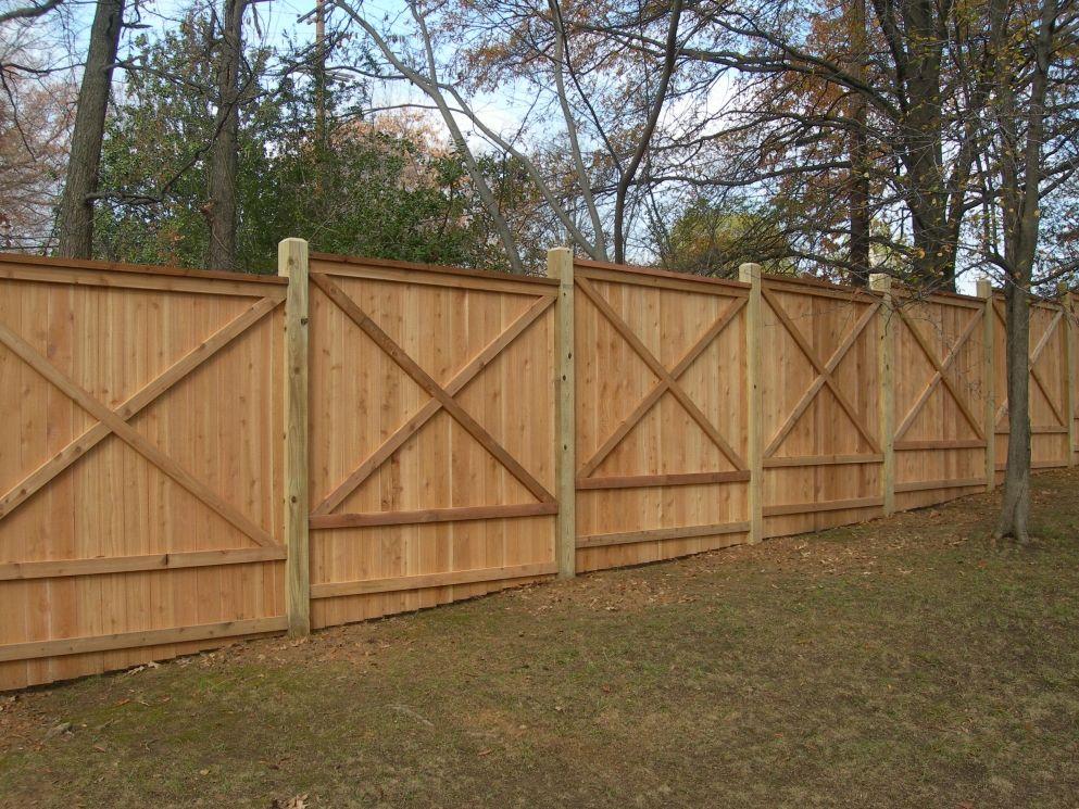 sized x fencing